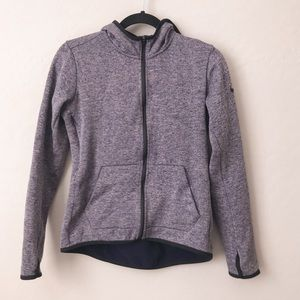 NIKE women's dri fit zip up hooded jacket showtime
